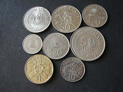Lot of 8 coins !