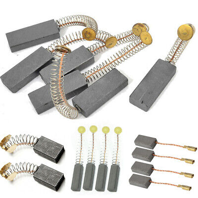 2/4/6/10Pcs Electric Motor Carbon Brushes 6*10*15mm/5*8*15mm/6*6*20mm/6*11*30mm
