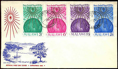 Malawi 1964 Christmas FDC First Day Cover #C40047