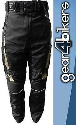 Neowell Desert Motorcycle Pants Gents Waterproof Trousers Jean Enduro SALE