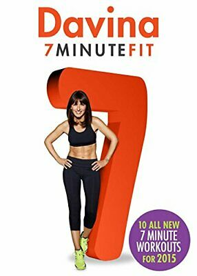 Davina: 7 Minute Fit - New for 2015 [DVD] - DVD  KWVG The Cheap Fast Free Post