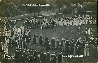 Somerset BATH Historical Pageant Arrival Queen Elizabeth JE.241