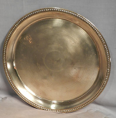 Antique Brass Cocktail Tray English PUB Advertising BLUE BOAR WORKS Soda Water