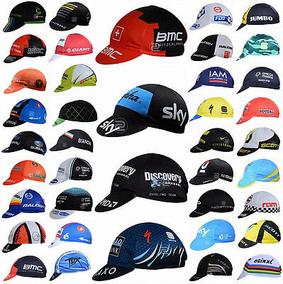 2017 Many style Bicycle Team Sport Hat Cycling Visor Hat Riding Road Headbands