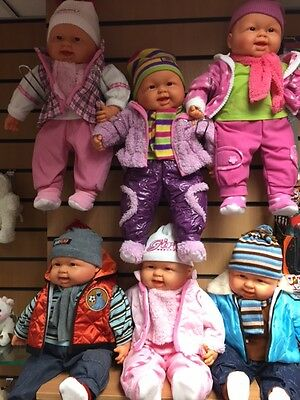 56 cm Lifelike Soft Bodied Dressed Baby Doll RRP £19.99 our price £16.99 3+