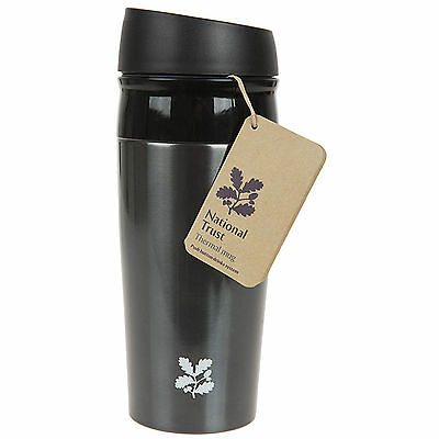Summit National Trust 450ml Thermal Insulated Travel Mug Coffee Drinks Cup Flask