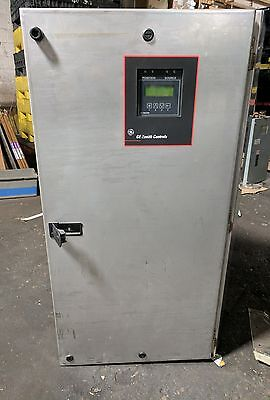 TRANSFER SWITCH GE ZENITH - 100 Amp - 120/240V - 3 Ph STAINLESS