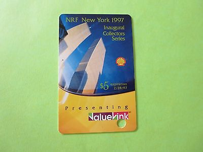 Vintage 1997 Value Link Retail Industry Introductory Gift Card - No Cash Value