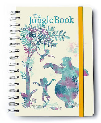 Jungle Book, The - Mogli Notizbuch A5, Spiralbindung, Notebook, Ringbuch, Block