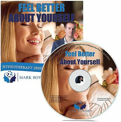Feel Better About Yourself Hypnosis CD +  FREE MP3 VERSION self confidence