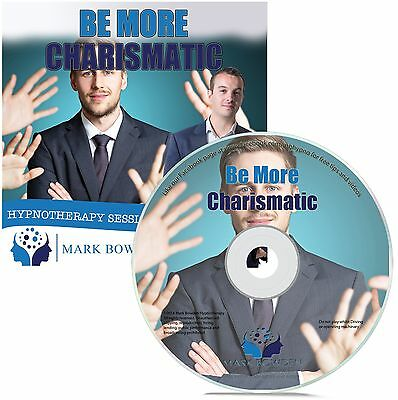 Be More Charismatic Hypnosis CD + FREE MP3 VERSION achieve success confidence