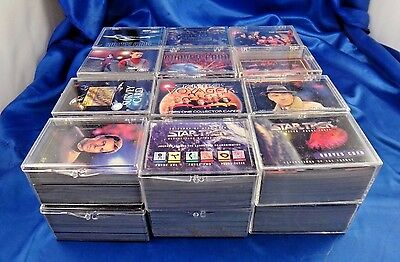 Star Trek Next Gen. Season 1-2-3-5-6 30 Years Phase 2-3 Voyager Over 2300 Cards