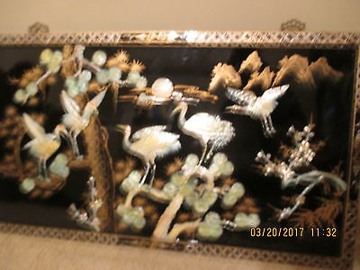 Antique Chinese Wall Deco