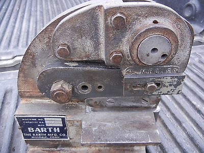 Vintage Barth No 43 Bench Metal Shear Hand Operated Pexto/Roper/Whitney/Beverly