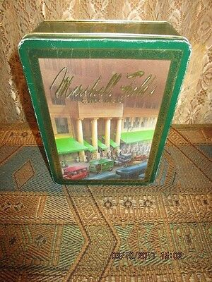 Vintage Marshall Field & Co Chicago Chocolates Tin Early 20th Century Scenes