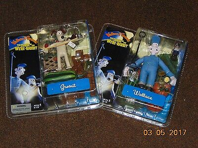 Lot of 2 ~ Action Figures ~ Wallace & Gromit /  McFarlane Toys