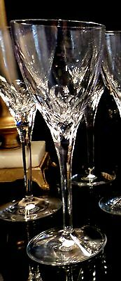 WATERFORD IRISH CRYSTAL ELBERON 8 7/8th's WATER GOBLET WINE GLASS - 10 Available