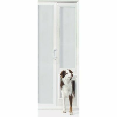"VIP Vinyl Insulated Pet Dog Patio Door - Extra Large/92 3/4"" to 94 1/2"""