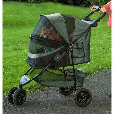 Special Edition No-Zip Pet Dog Stroller - Sage