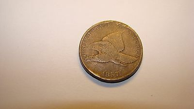 1857 Flying Eagle Cent-Nice Grade!!!!!