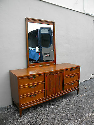 Mid-Century Dresser with Mirror by United Furniture Corp. 2373