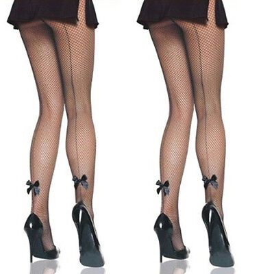 Lady Large Fishnet Lace Breathable Elastic High Top Stockings Tights Pantyhose &