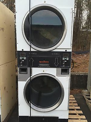 Speed Queen Stack Dryer For Coin Laundry Laundromat