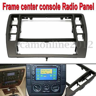 Audio Car Dashboard Frame Center Console Radio Panel for 2001-2005 VW Passat B5