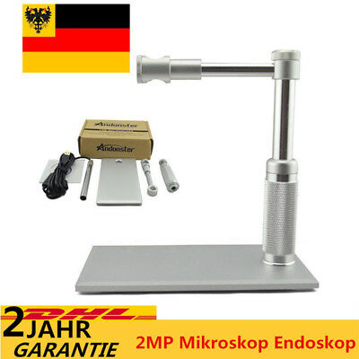 Digital 2MP Mikroskop Endoskop Lupe Kamera Andonstar HD USB Video Magnifier 2017
