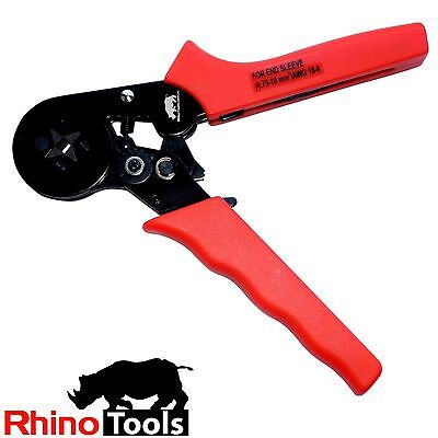 Bootlace Crimper 0.75 - 10mm  Self Adjusting Crimping Tool  Taiwan Quality