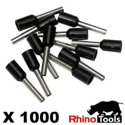 1.5mm Bootlace Ferrules X 1000   Wire ends Cord end terminals connectors crimper