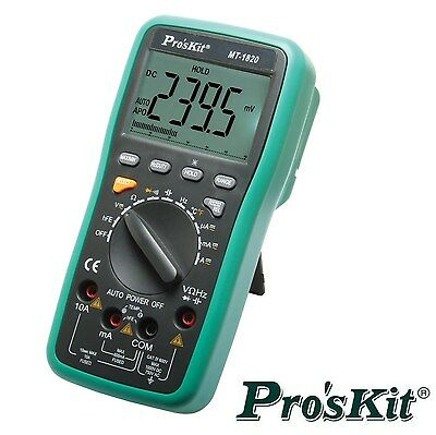 Digital Multi Meter DMM with USB connect ProsKit MT-1820  Taiwan CAT IV