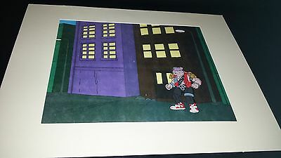 Bebop Rare Teenage Mutnant Ninja Turtles Tmnt Animation Production Cel