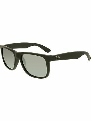 Ray-Ban Women's Justin RB4165-622/6G-55 Black Wayfarer Sunglasses