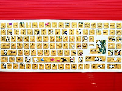 Animal Keyboard Stickers Decoration Seal Computer Laptop Desktop Accessories D-5