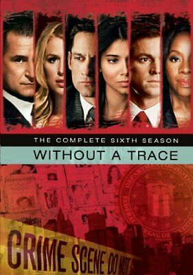 Without A Trace Season 6 [DVD] - DVD  E8VG The Cheap Fast Free Post