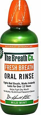 The Breath Co Fresh Breath Oral Rinse 500 ml Mild Mint (Bad Breath)