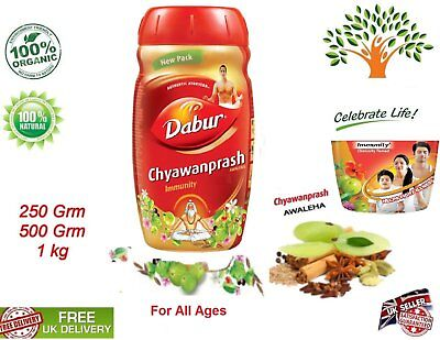 Double Immunity All Ages Dabur Chyawanprash Awaleha Ayurvedic Herbal Vegetarian
