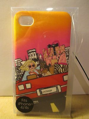 LUV 2 SHOP I-PHONE 4s COVER
