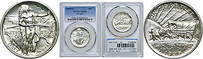 1936-S Oregon Trail Silver Commemorative PCGS MS-65