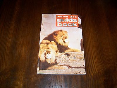 DETROIT ZOO GUIDE BOOK, 1968, Zoological Park Book, Reptiles, Fish, Mammals