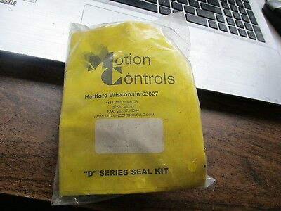 New Motion Controls Series D Seal Kit R-20355