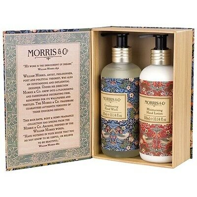 Morris & Co Hand Wash and Hand Lotion Duo 2x300ml