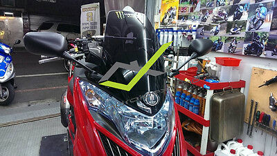 KYMCO G-DINK 300i FRONT MOUNTED SQUARE MIRRORS