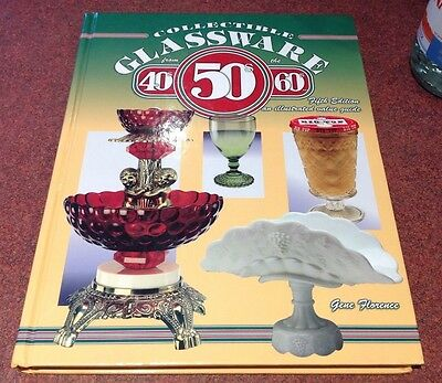 Identification/price Guide Book On Glassware From The 40's, 50's & 60's
