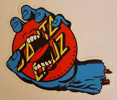 *** Santa Cruz Skateboards - Skateboard Sticker - Screaming Dot - ca.10x15cm ***