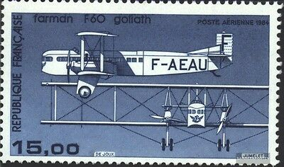 France 2428 (complete issue) unmounted mint / never hinged 1984 Airmail