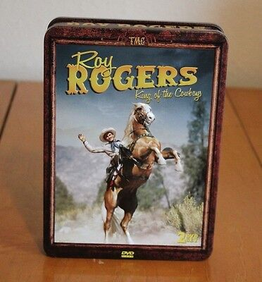 For Sale is this Roy Rogers King of the Cowboys 2 DVD Set