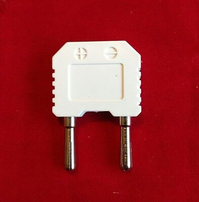 Temperature Adapter Type K Thermocouple Mini to Banana Plug