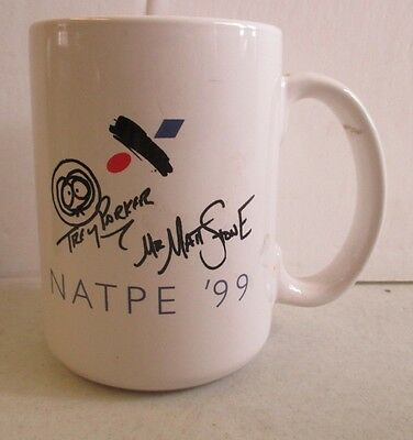 1999 Natpe Trey Parker & Matt Stone South Park Kenny New Orleans Mug